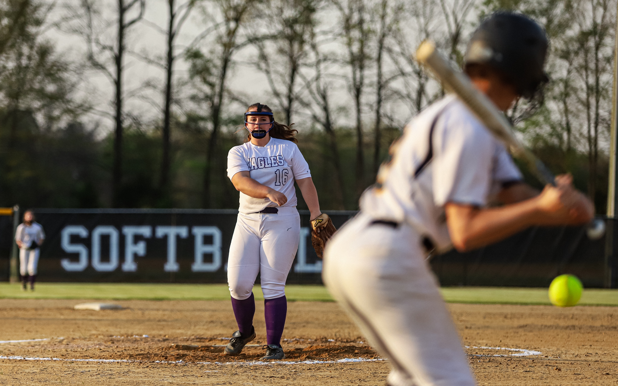 Softball: Rosewood Bounces Back With A Win Against Hobbton (PHOTO GALLERY)