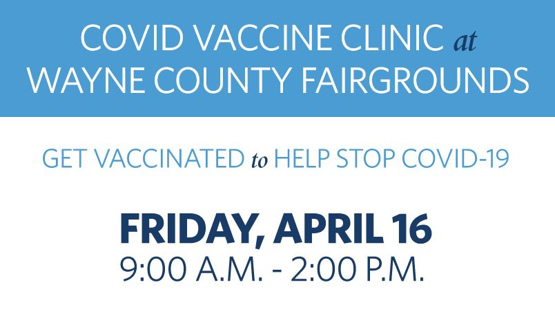 Fairgrounds To Host Vaccine Clinic On Friday