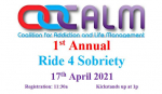 """CALM To Host First Annual """"Ride 4 Sobriety"""""""