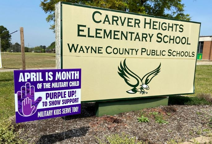 WCPS To Purple Up!