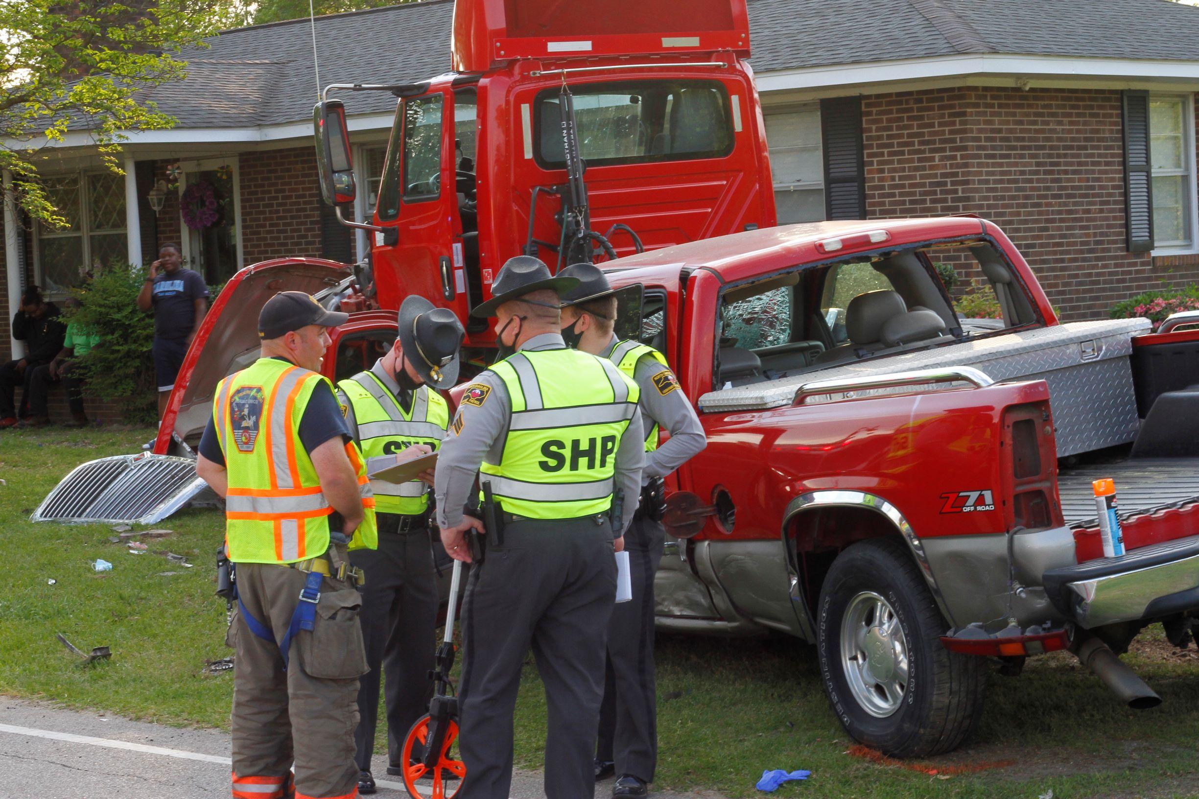 Vehicle Pursuit Ends In Crash, Suspect Dead (PHOTOS)