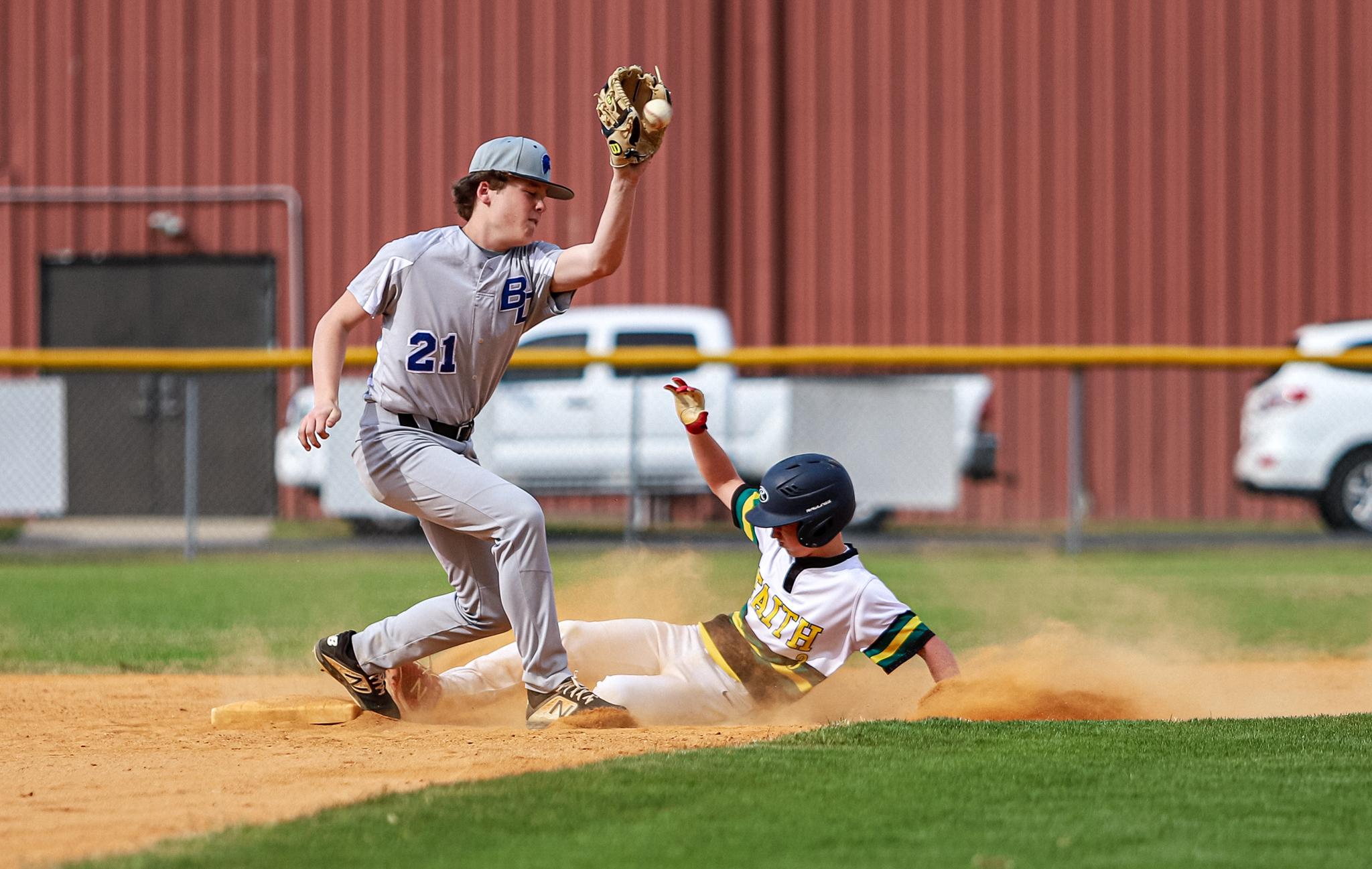 Baseball: Faith Christian Takes On Bethel Christian Academy (PHOTO GALLERY)