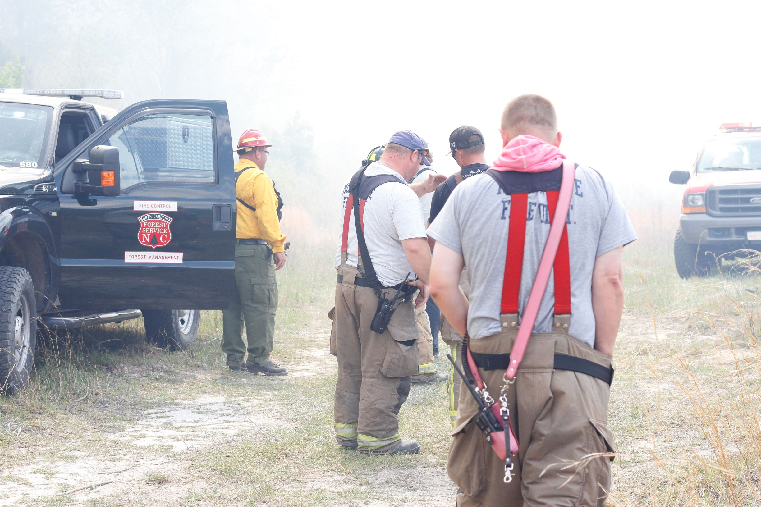 Firefighters Contain Blaze That Shut Down Highway (PHOTO GALLERY)