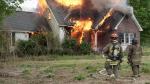 Grantham F.D. Hosts Live Burn Training (PHOTO GALLERY)