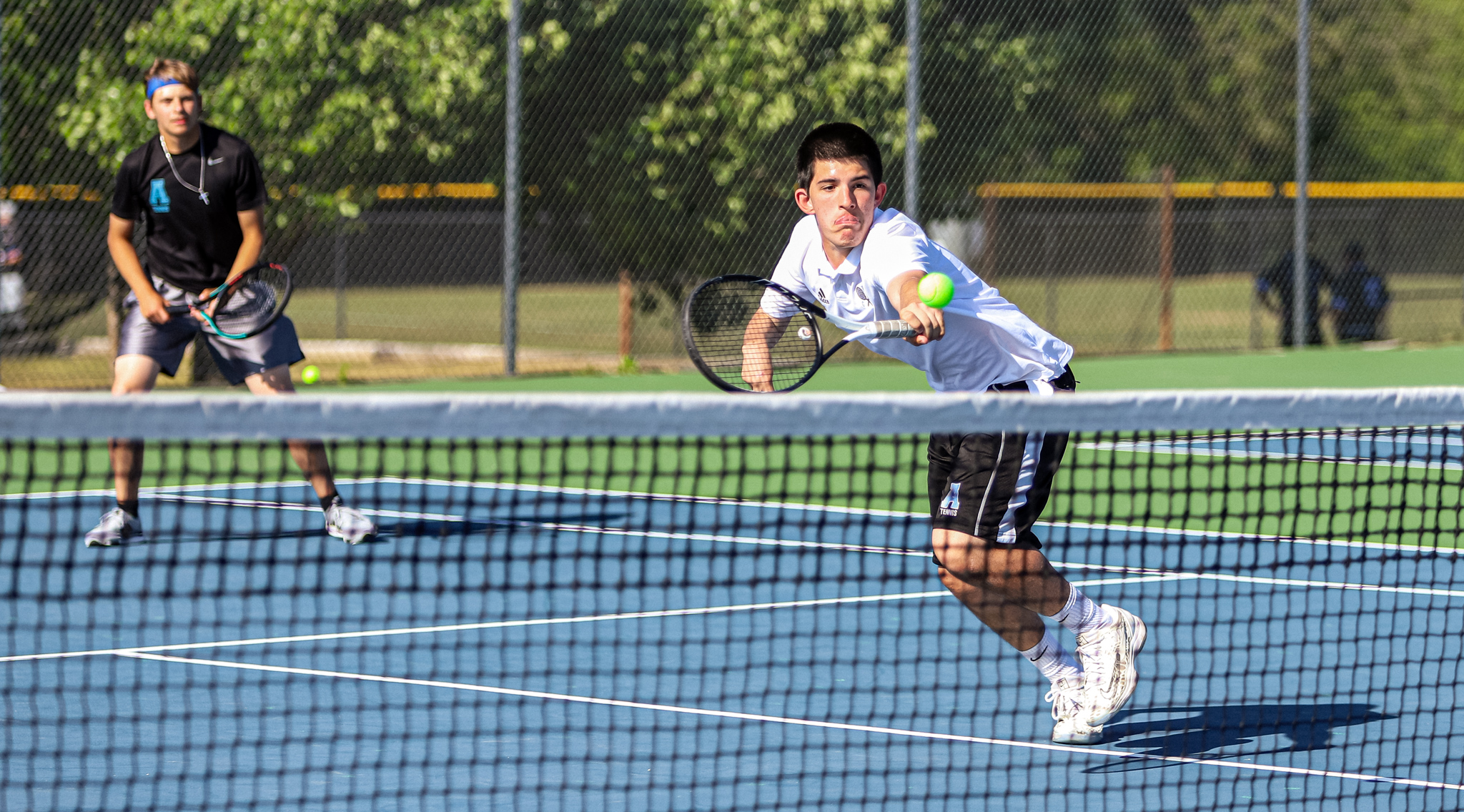 Boys Tennis: C.B. Aycock Faces Off Against D.H. Conley (PHOTO GALLERY)