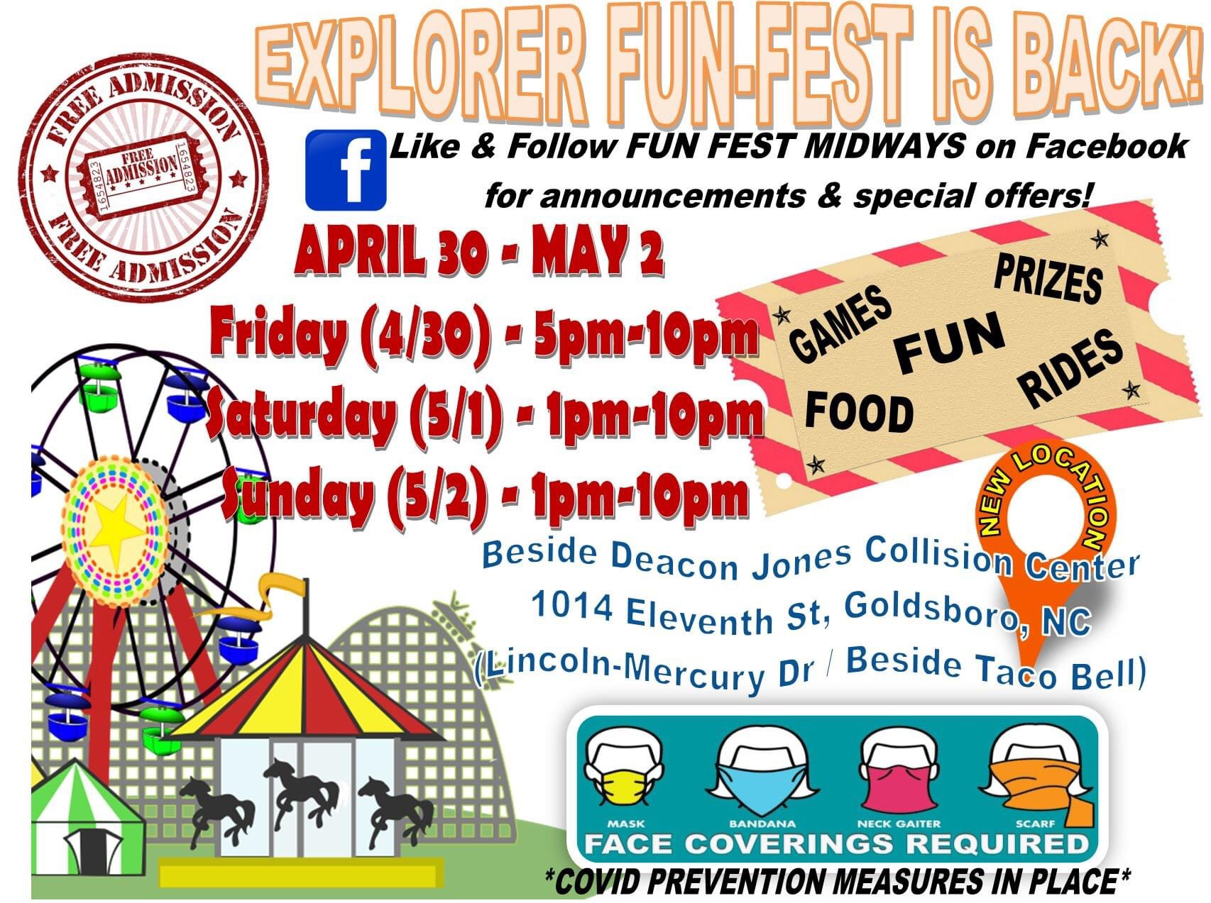 GPD Holds Explorer FunFest This Weekend