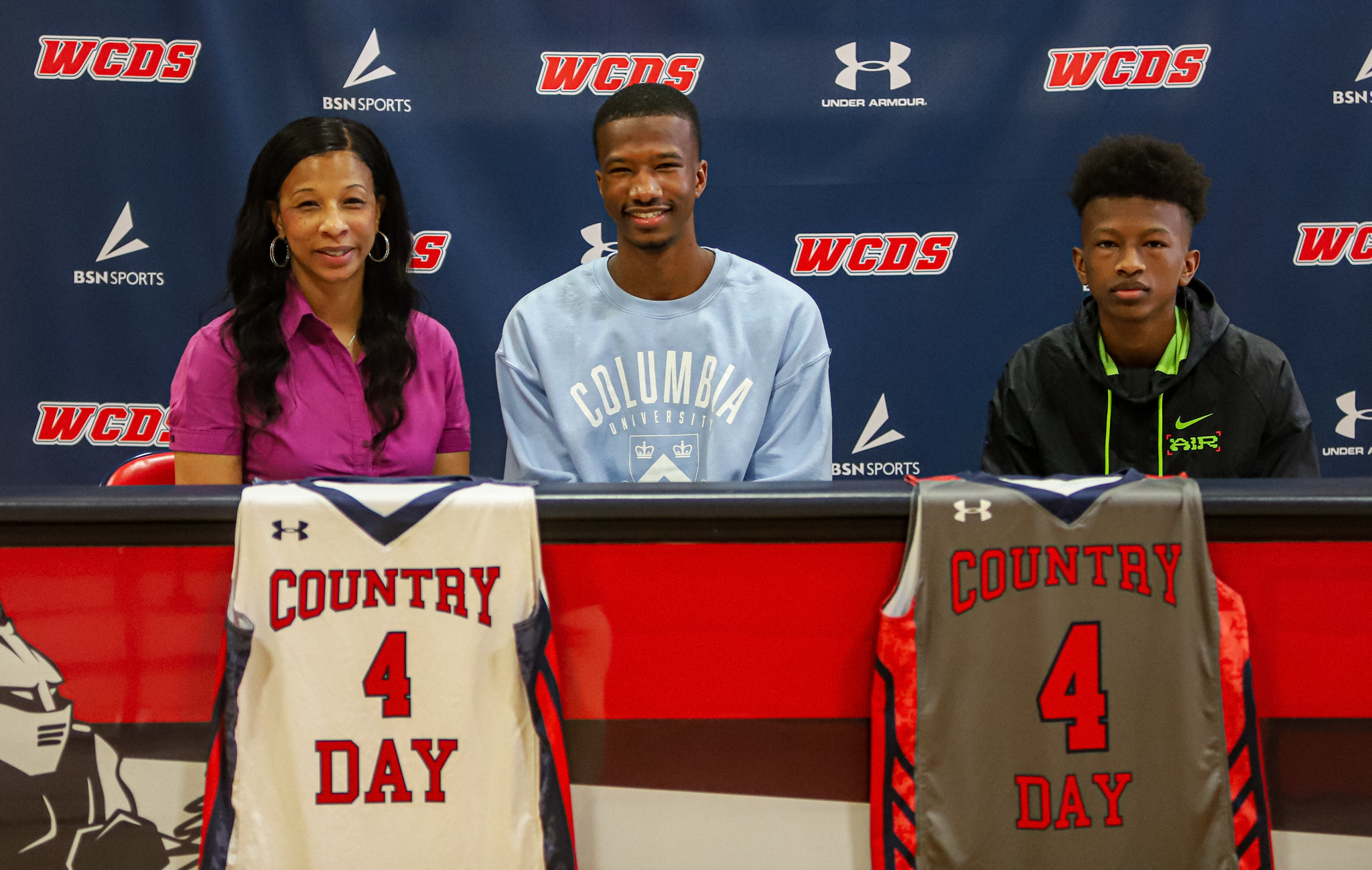 WCDS' Jaden Cooper Signs NLI With Columbia University