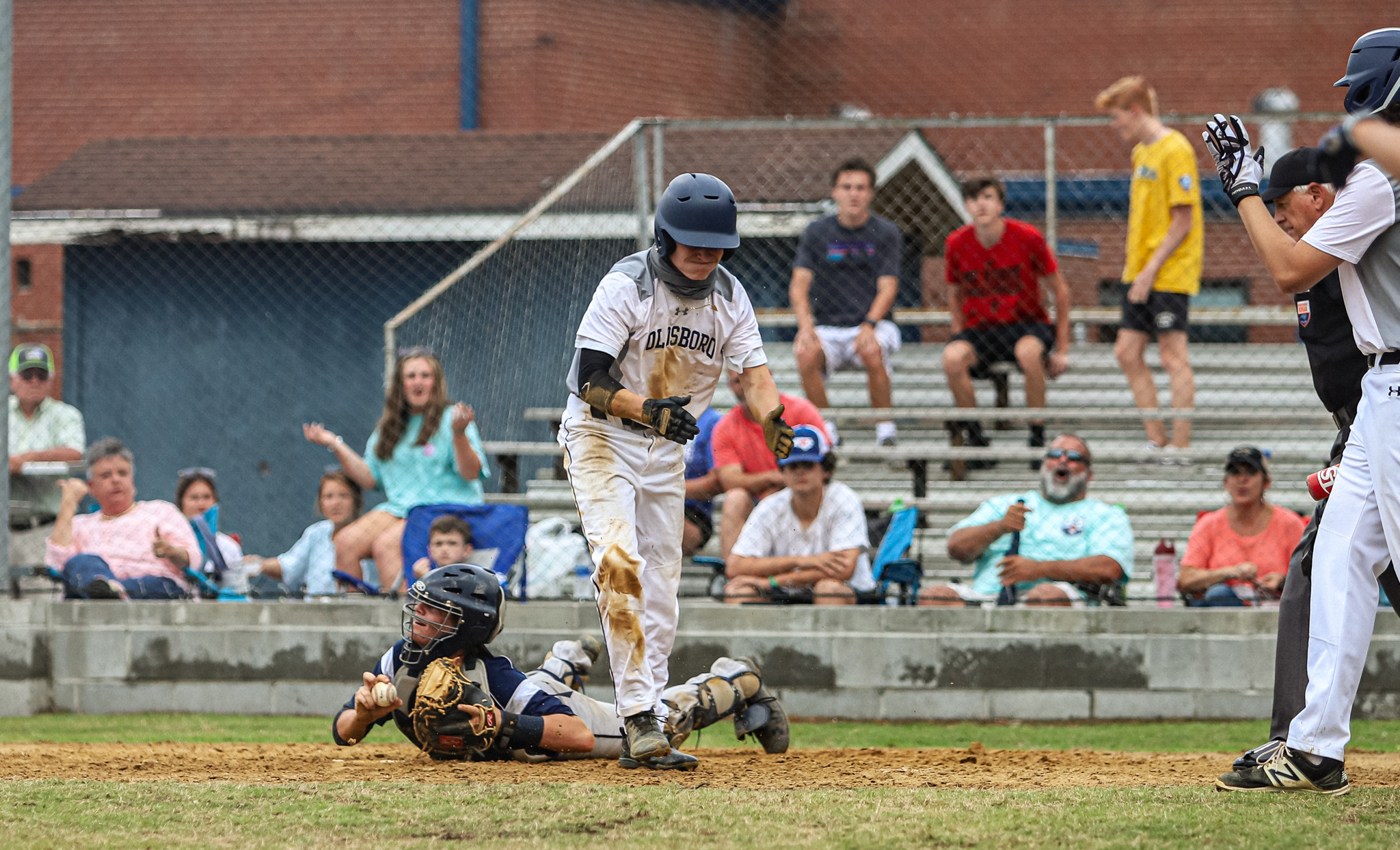 Baseball: Goldsboro Comes Back To Defeat Spring Creek (PHOTO GALLERY)