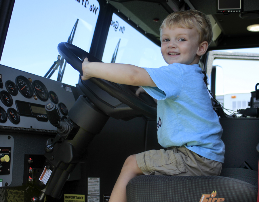 Partnership Holds Annual Touch A Truck On May 22