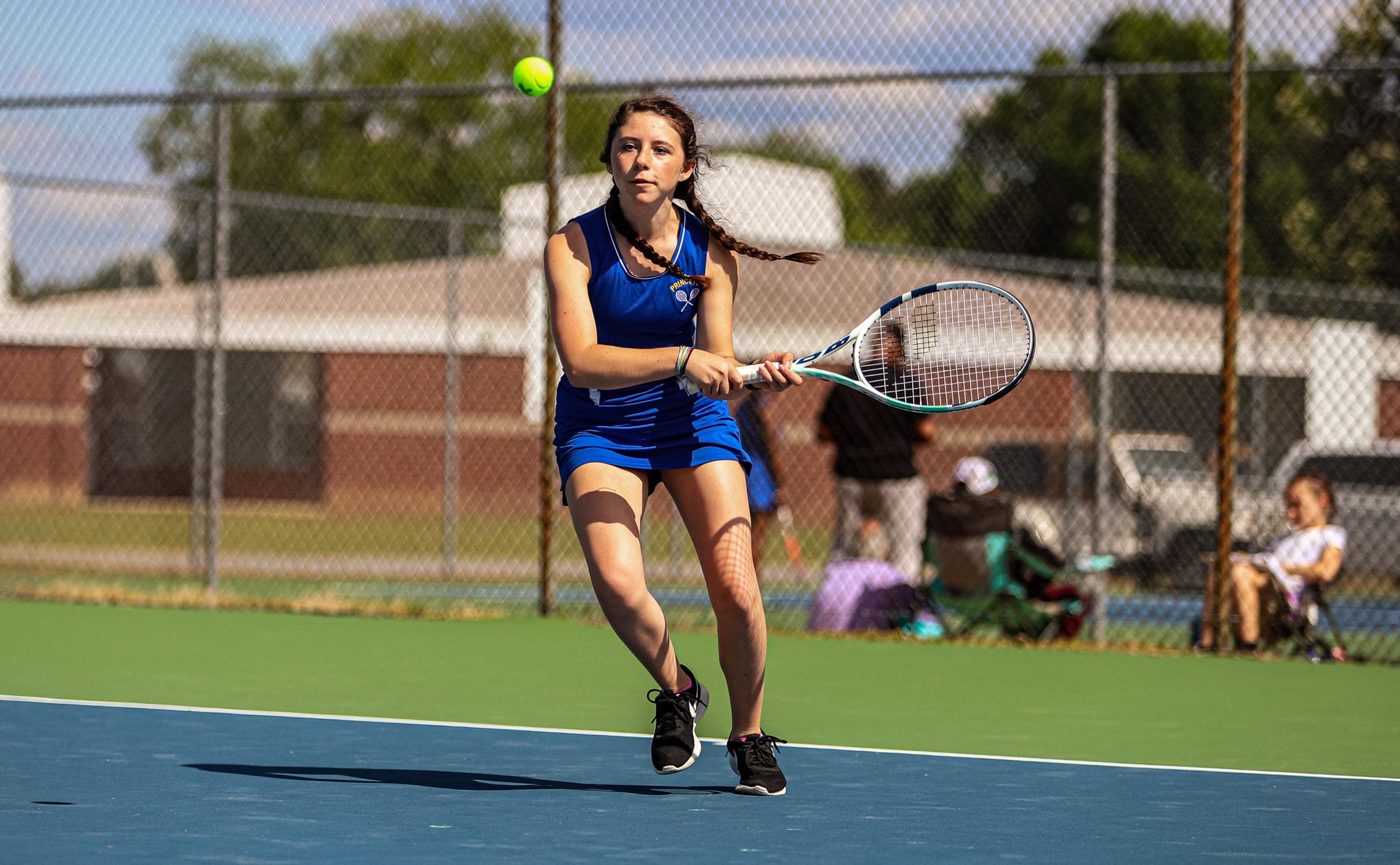 Girls Tennis: Princeton Turns Back Rival Rosewood (PHOTO GALLERY)