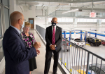 Community College System President Visits WCC