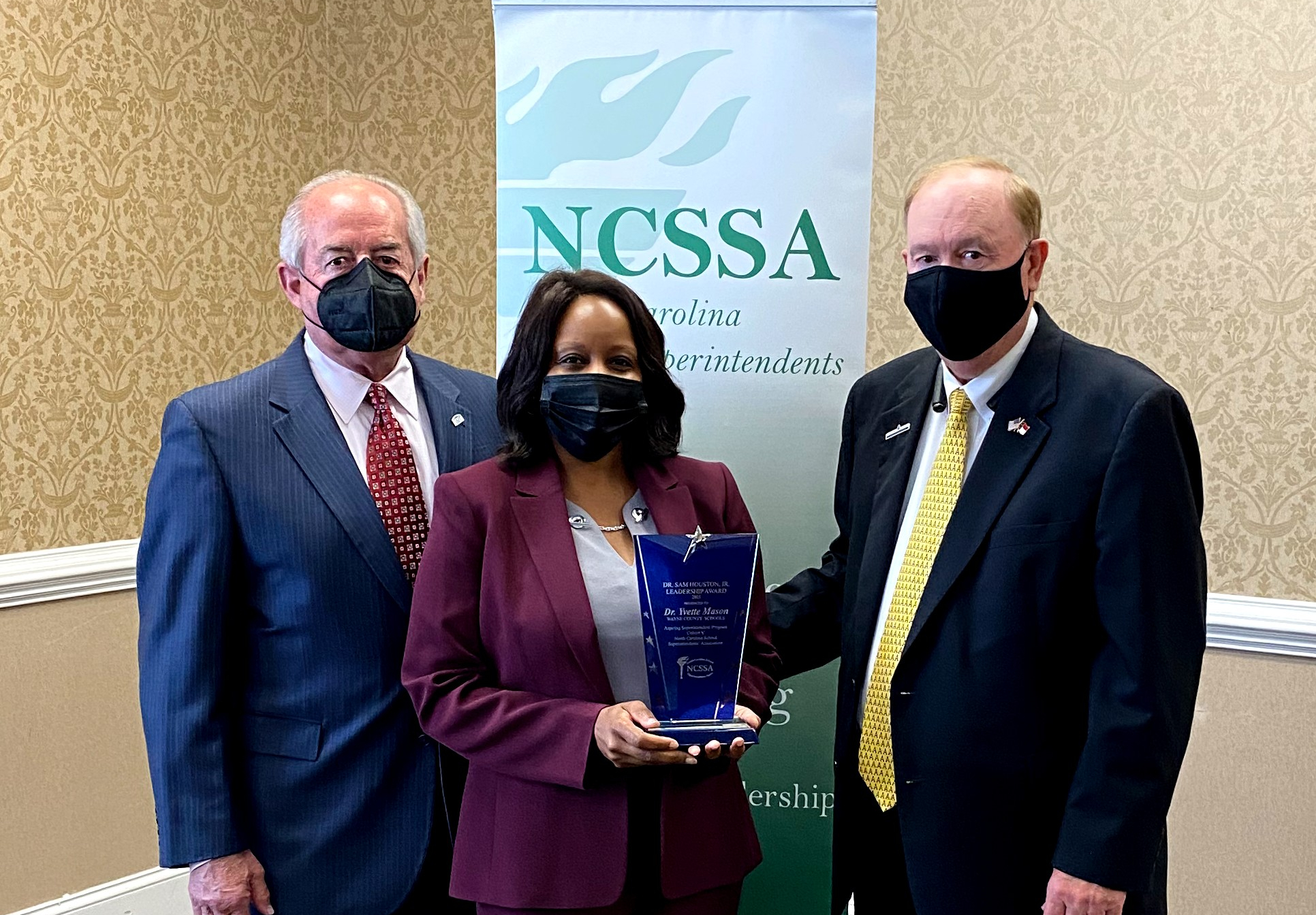 WCPS's Dr. Smith Selected For Leadership Award