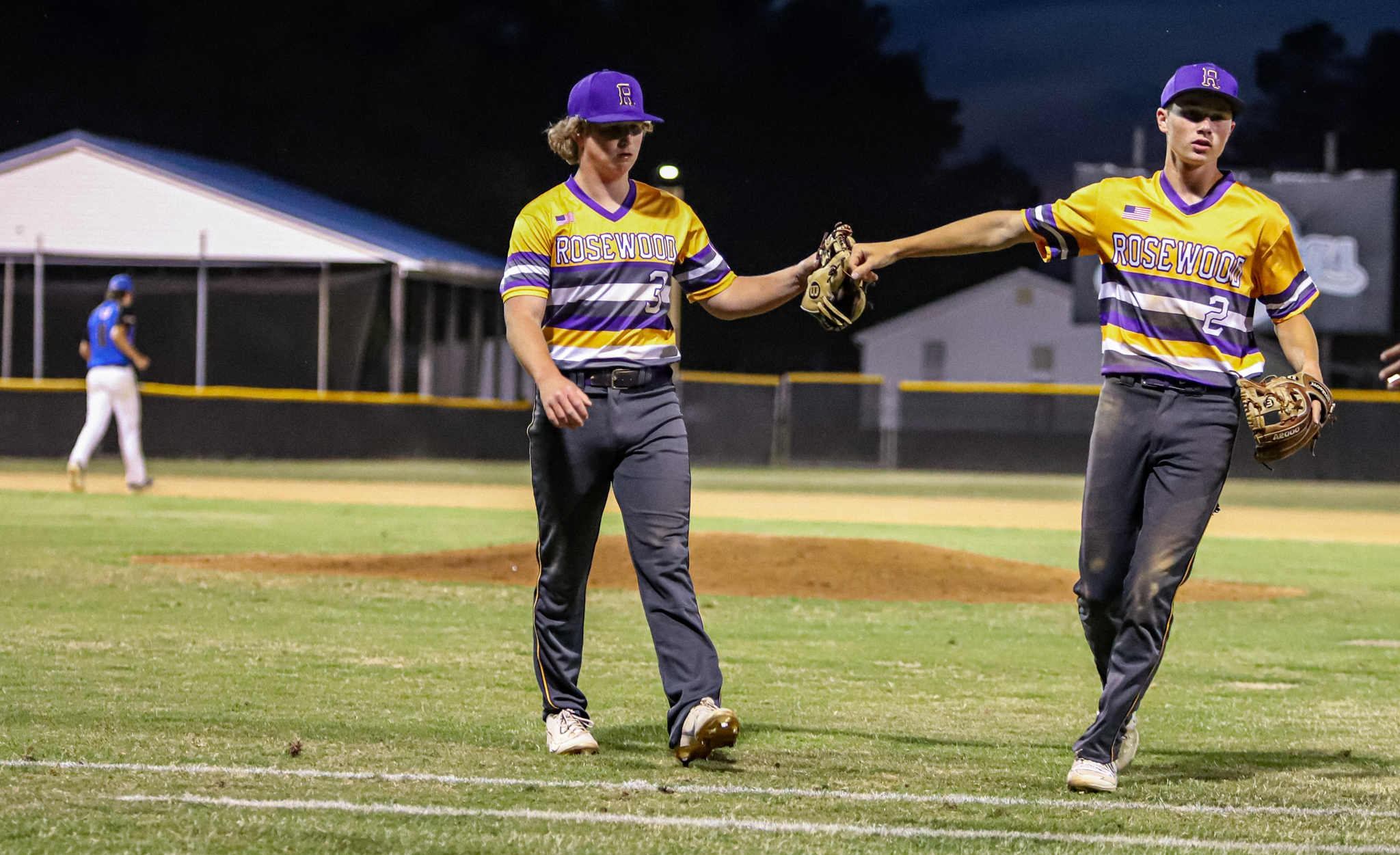 Baseball: Rosewood Holds Off Princeton In Extra Innings (PHOTO GALLERY)