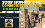 Wayne Prep Holds Food Distribution On Saturday
