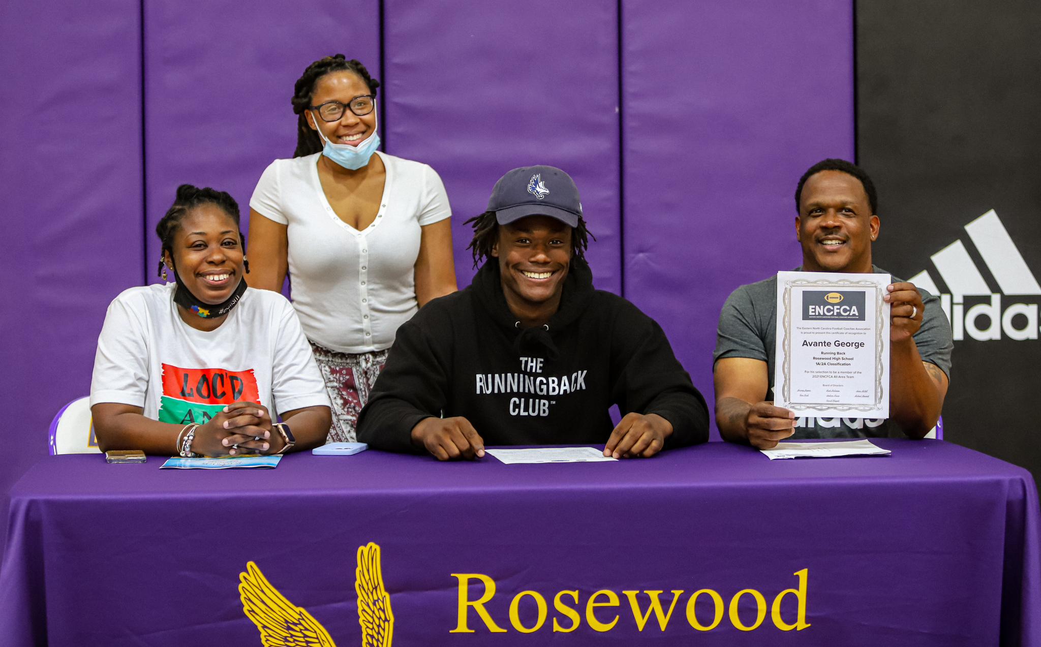 Rosewood's George Inks NLI With Keiser University To Play Football
