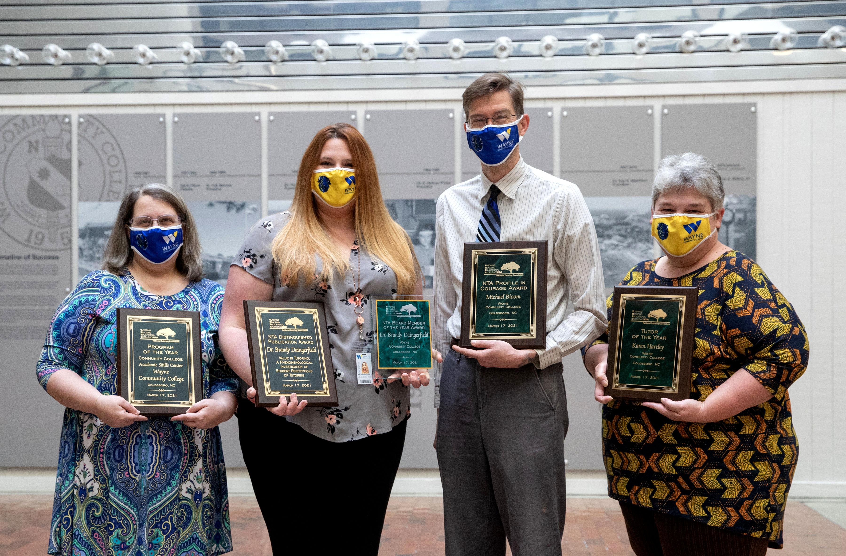 WCC Academic Skills Center Takes National Awards