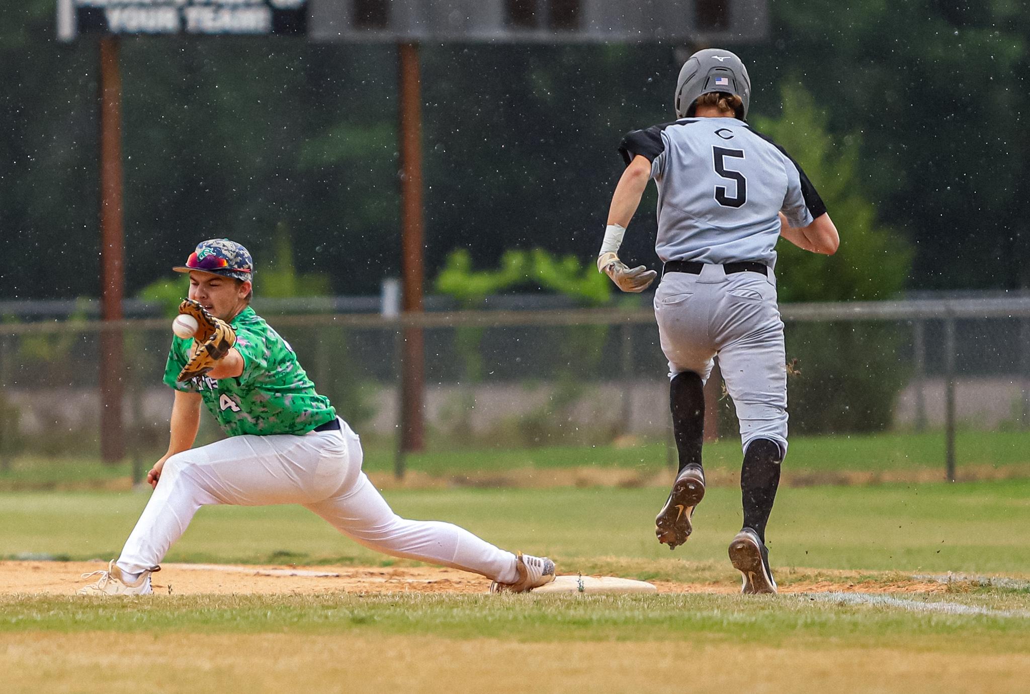 Baseball: Clinton Escapes Spring Creek (PHOTO GALLERY)