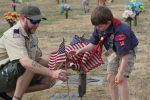 """Groups Head To Wayne County Cemeteries For """"Flags In"""" Operation (PHOTO GALLERY)"""