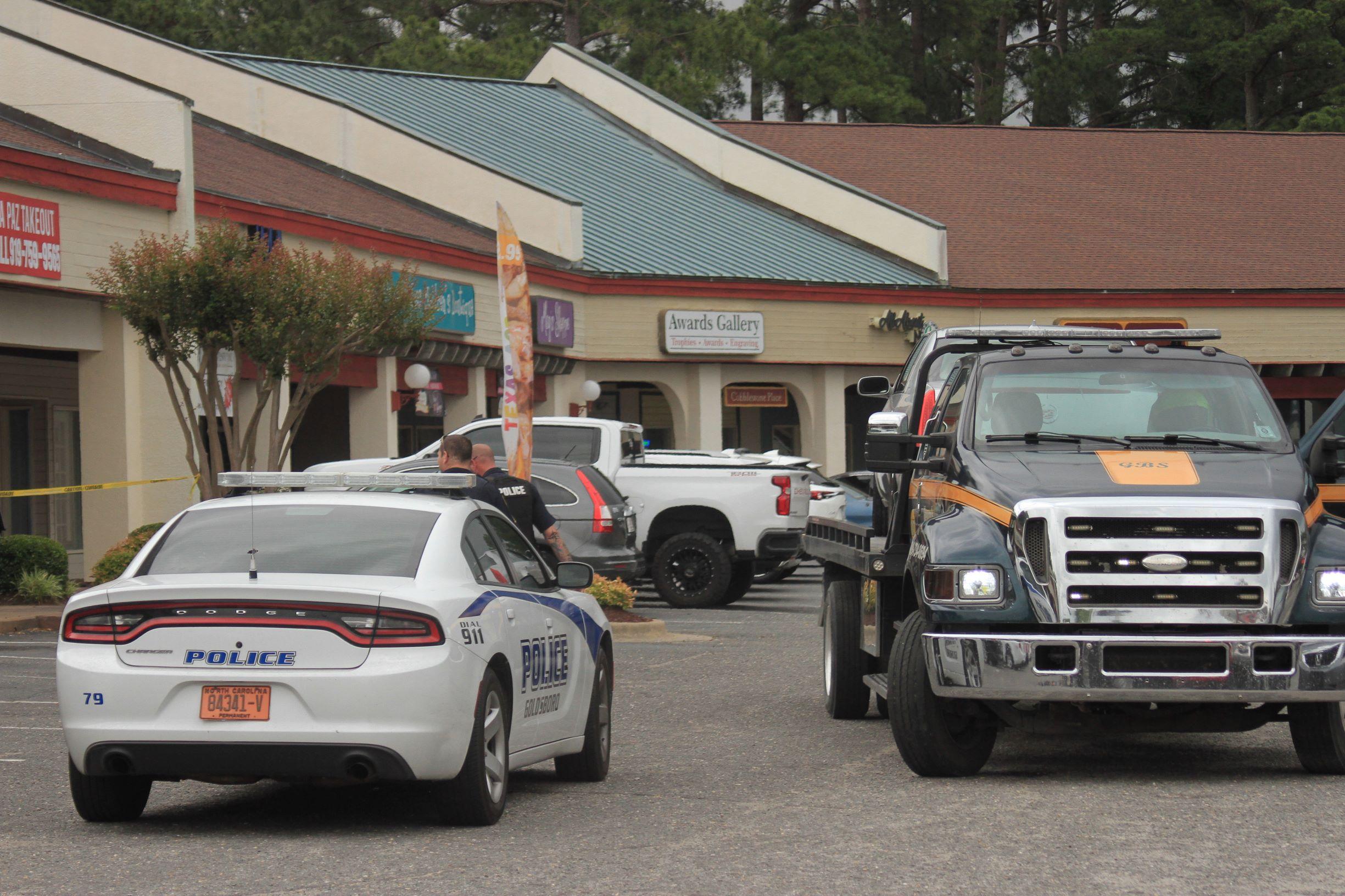 Vehicle Crashes Into Goldsboro Restaurant (PHOTOS)