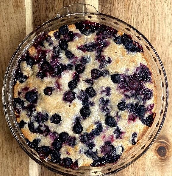 RECIPE: No Crust Blueberry Pie
