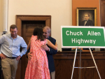 Portion Of U.S. 70 Bypass Dedicated To Mayor Chuck Allen