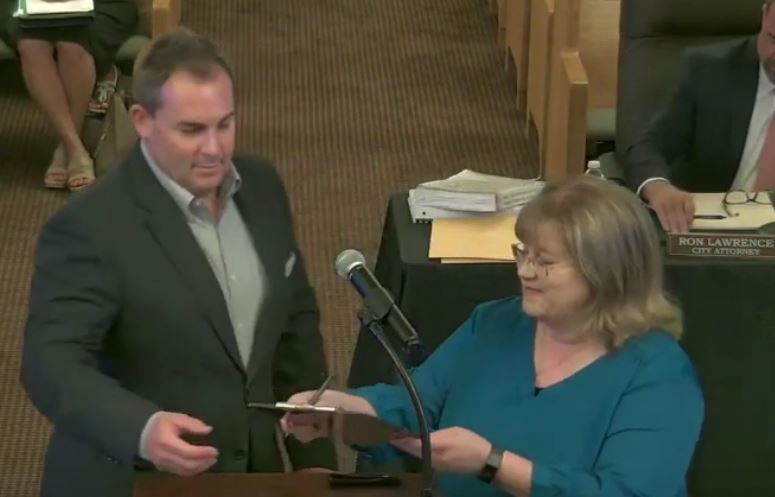 Goldsboro Swears In New City Clerk
