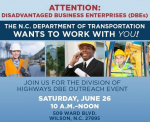 NCDOT Hosting Workshop To Help Small, Disadvantaged Businesses Compete For Contracts