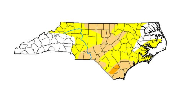 """Conditions Improve But Wayne County Still Listed As """"Abnormally Dry"""""""