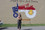 New Downtown Mural Promotes Wayne County Agriculture (PHOTOS)
