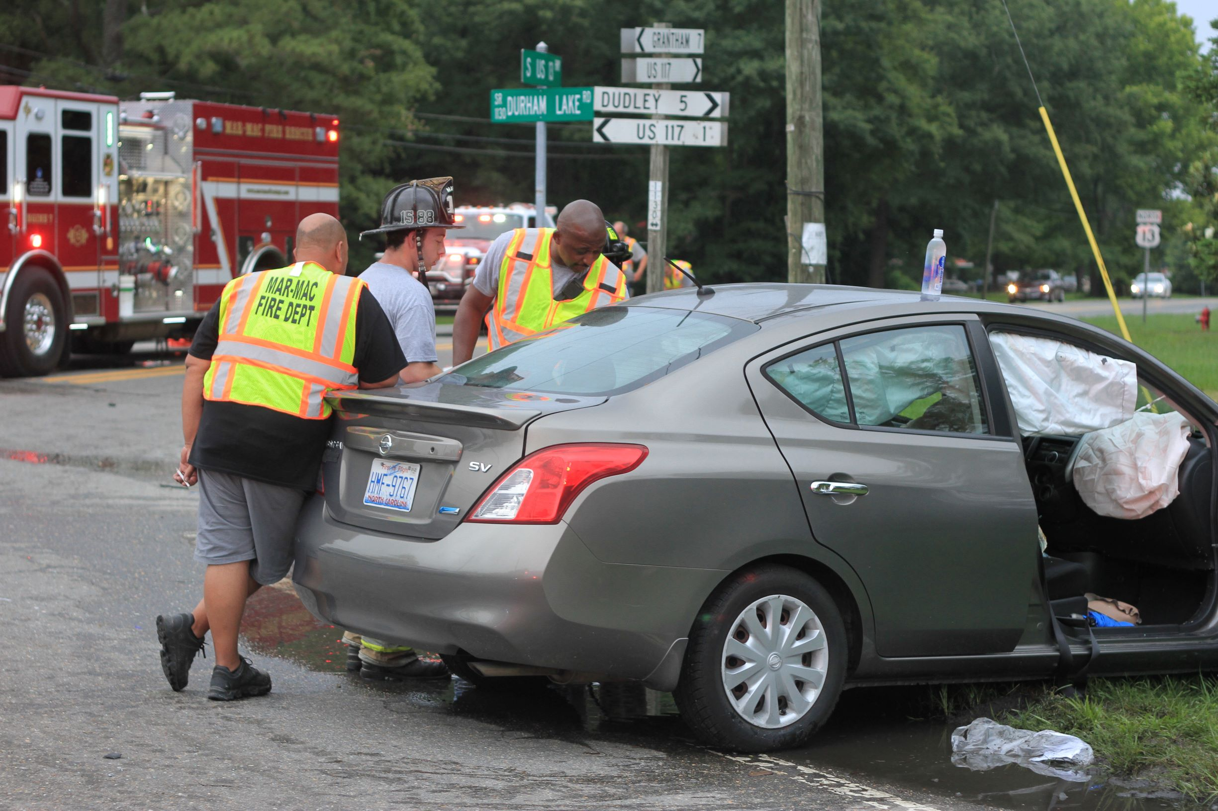 Patients Transported To Hospital After Crash On U.S. 13 (PHOTOS)