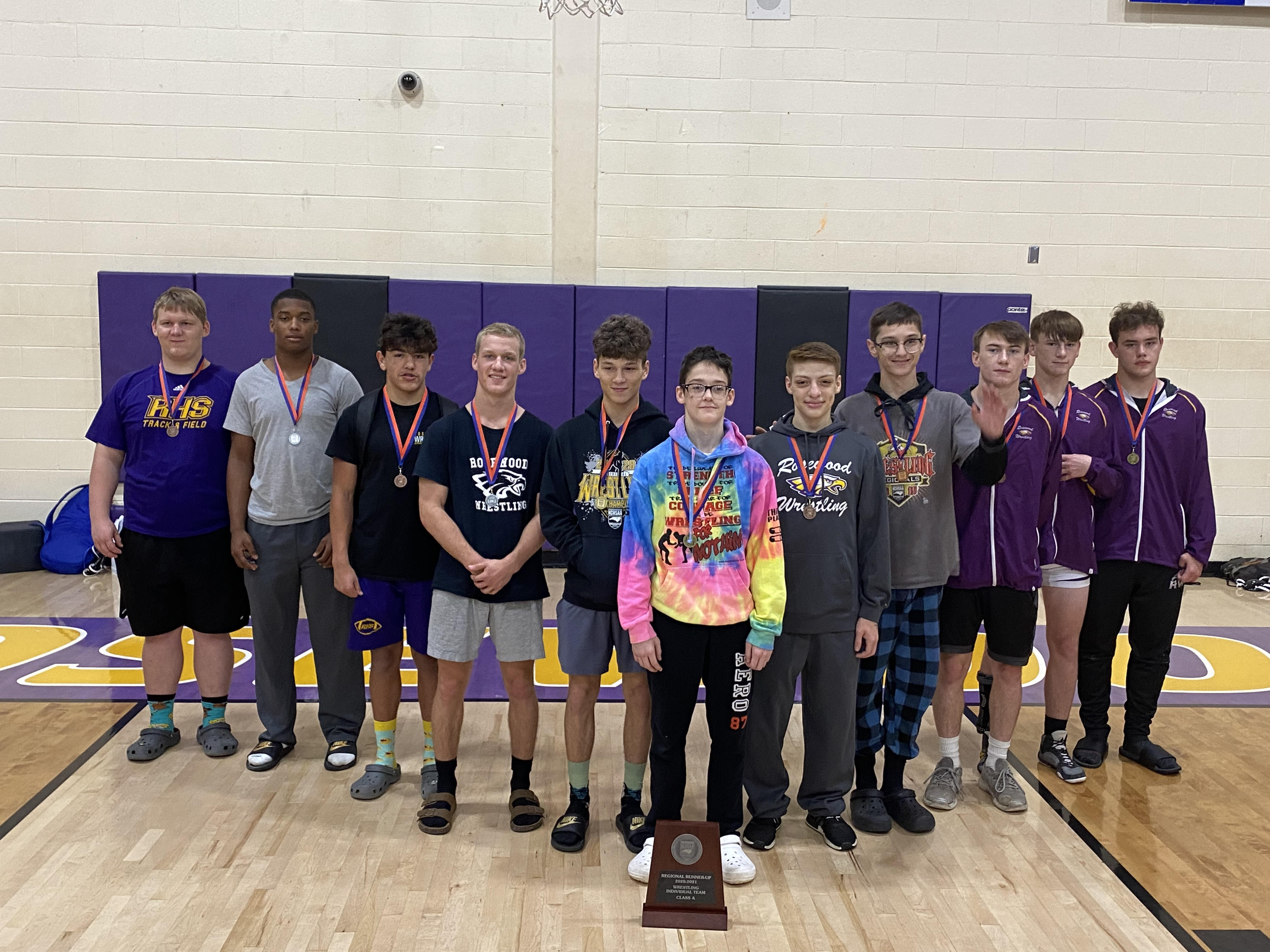 Wrestling: 11 Rosewood Eagles Advance To State Tournament