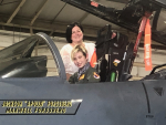 """13-Year-Old Climbs Into F-15, Becomes """"Pilot For A Day"""" (PHOTO GALLERY)"""