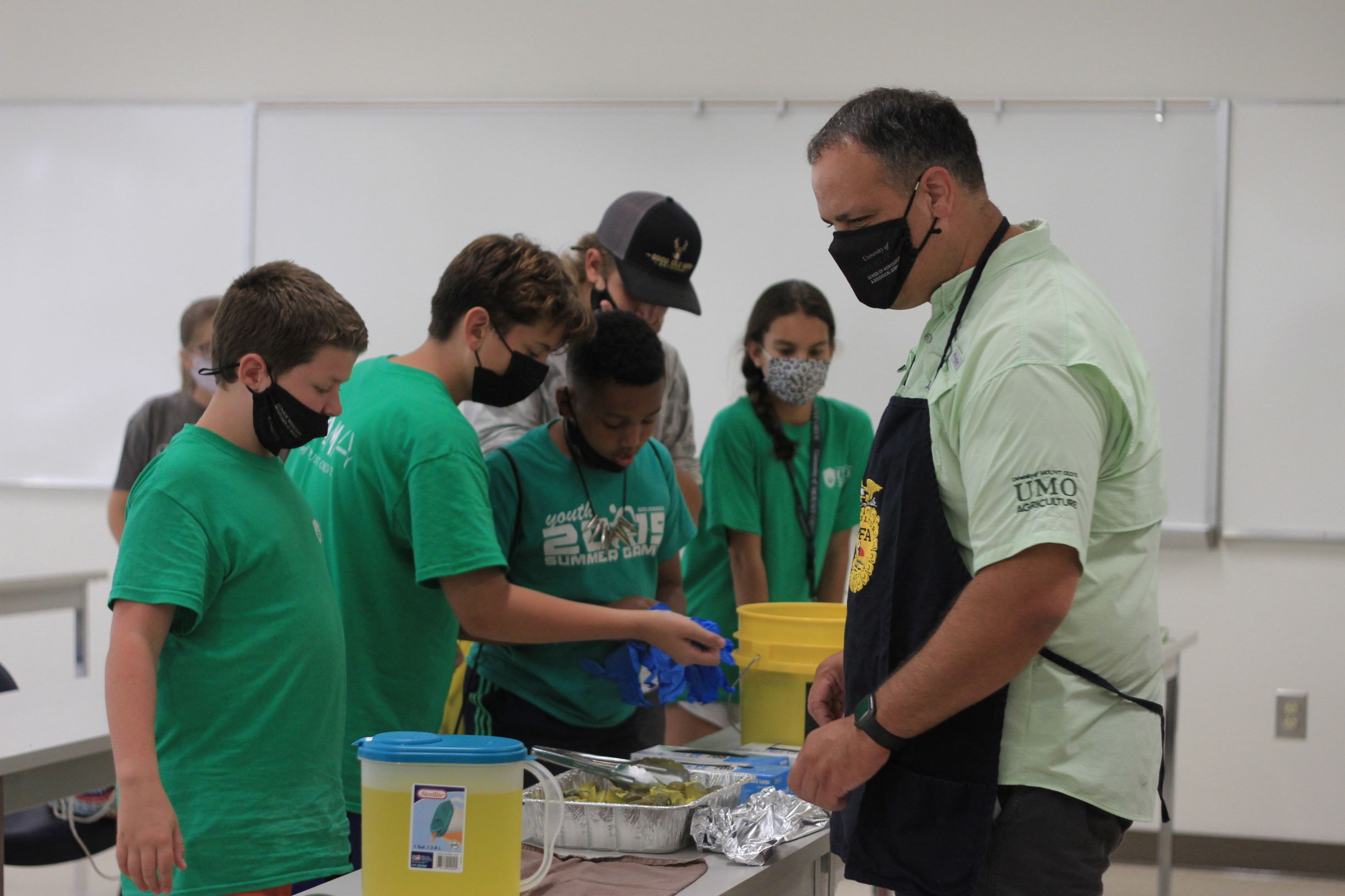 STEAMA Day Camp At UMO: Producing The Perfect Pickle (PHOTO GALLERY)