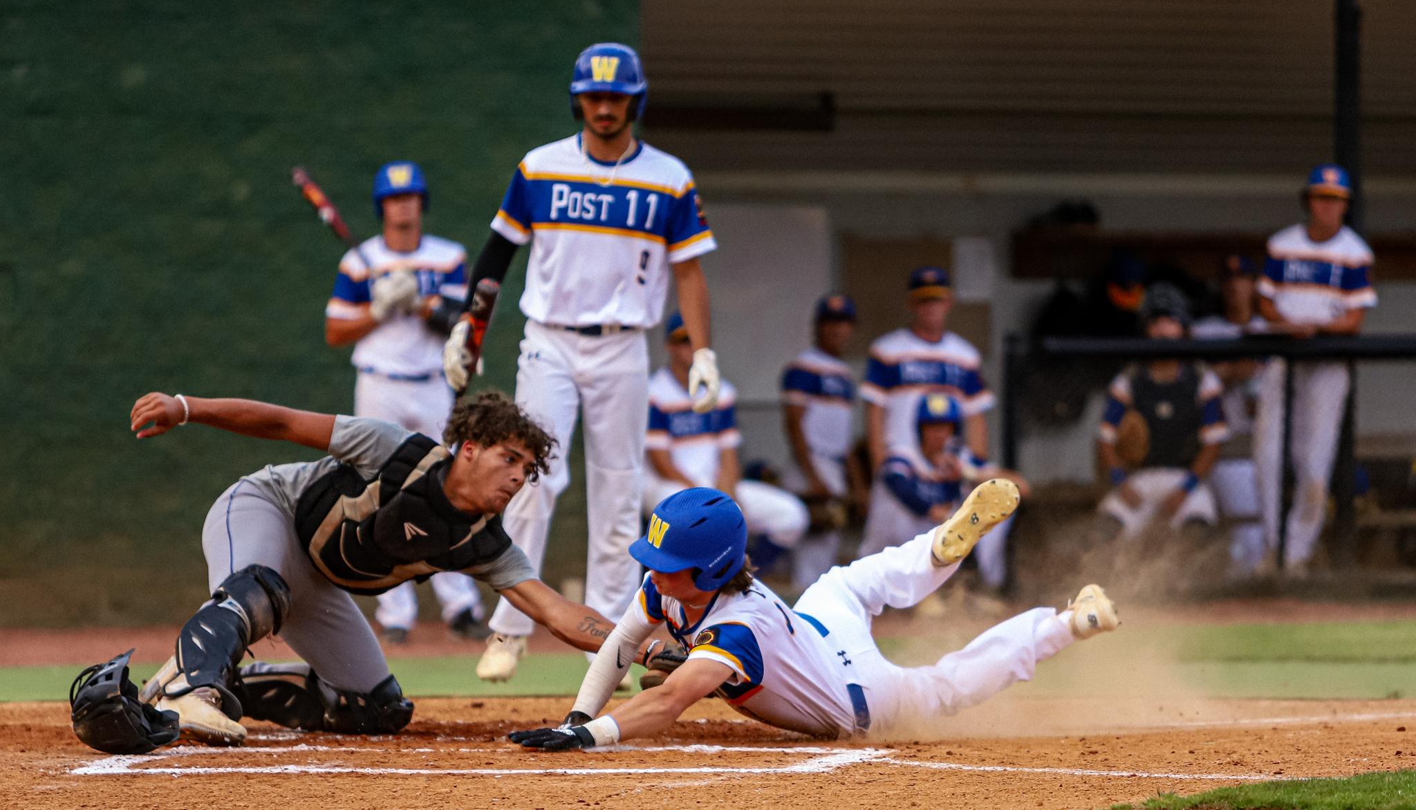 Baseball: Post 11 Holds Off Kinston Post 43 (PHOTO GALLERY)