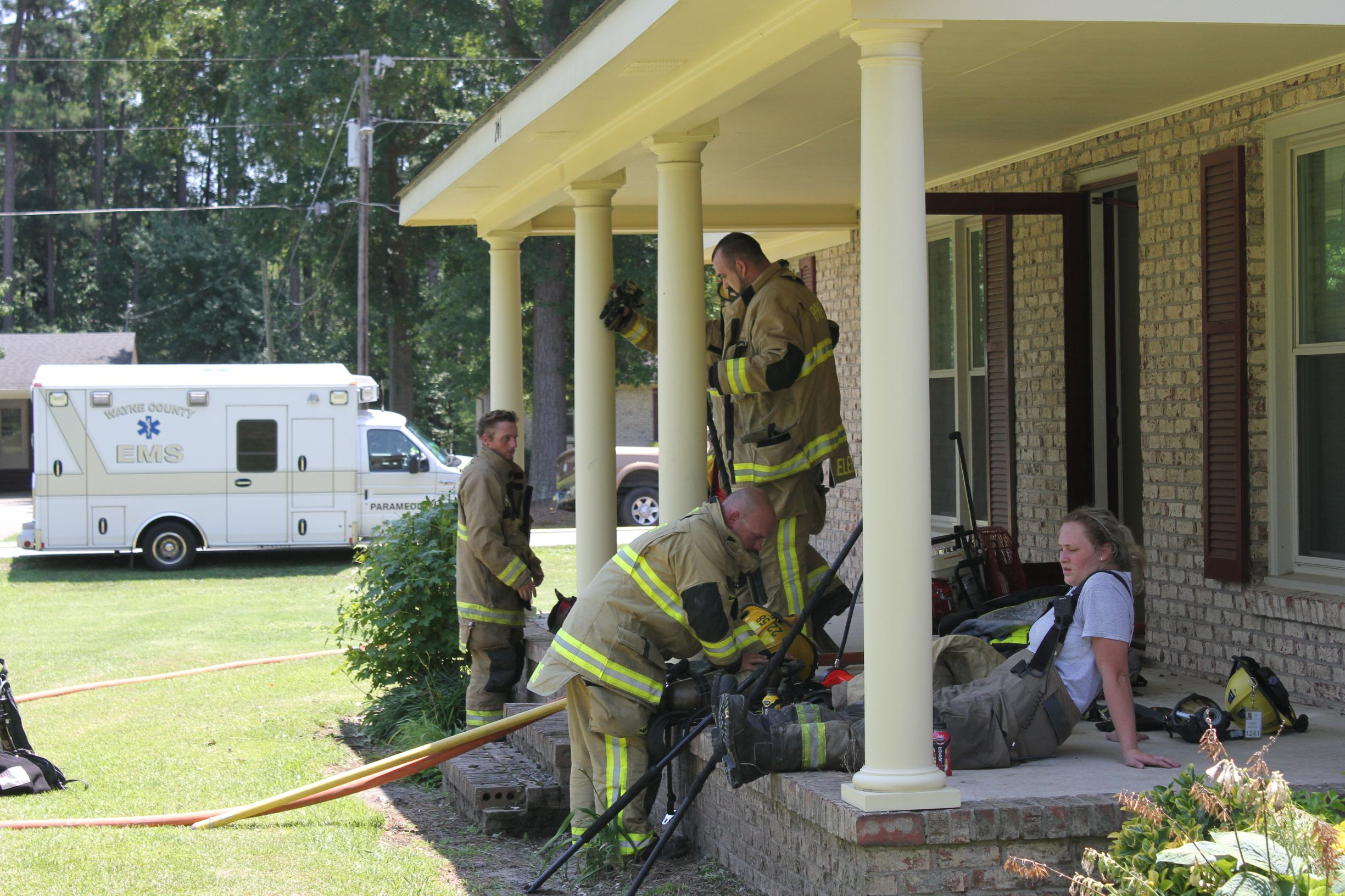 Firefighters Quickly Extinguish Pikeville Blaze (PHOTO GALLERY)