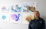 UMO's Lockett Gains Important Life Lessons From Art
