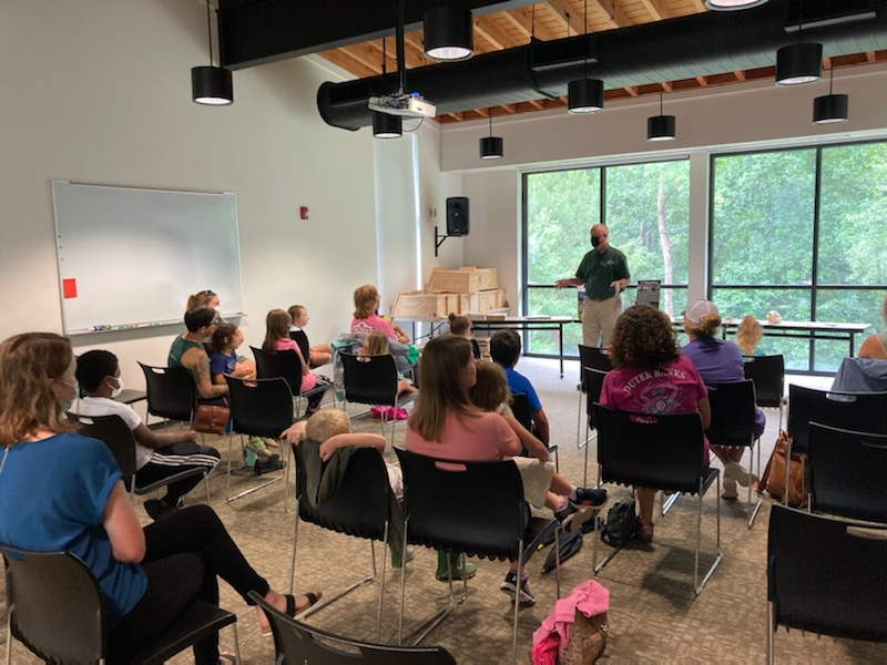 Library Expands Children's Programs To Cliffs Of The Neuse