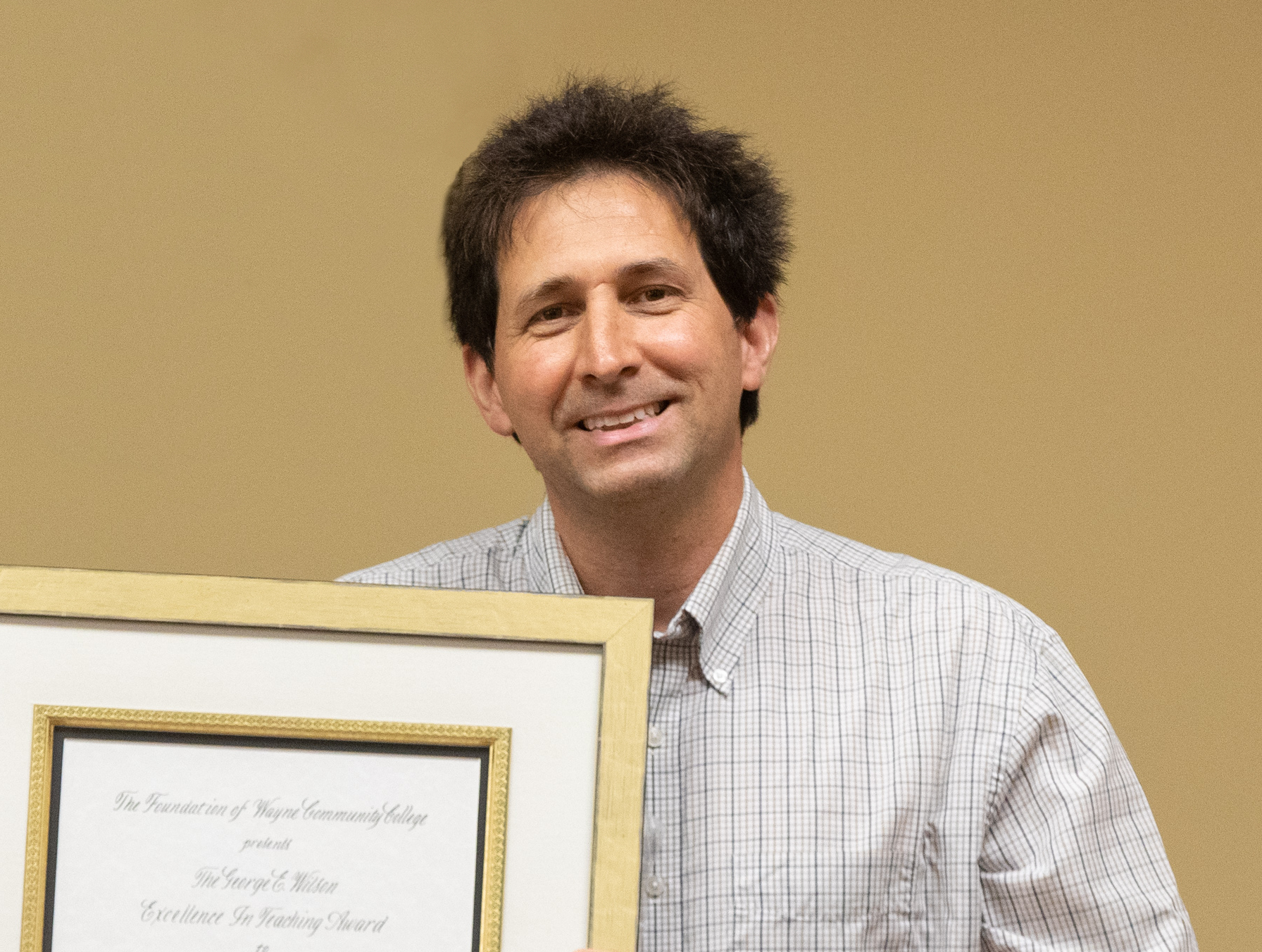 WCC's Lawson Receives Teaching Award