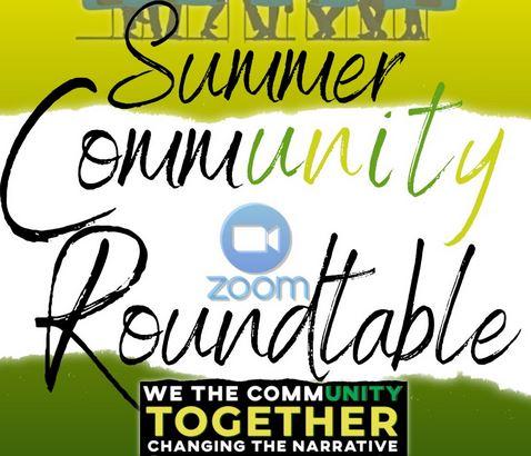 Summer Community Roundtable Set For Thursday Evening