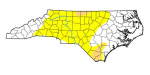 Dry Conditions Ease Locally, But Nearby In Central N.C.
