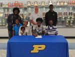 Princeton's Jaheim Taylor Signs Basketball NLI With Davidson-Davie CC