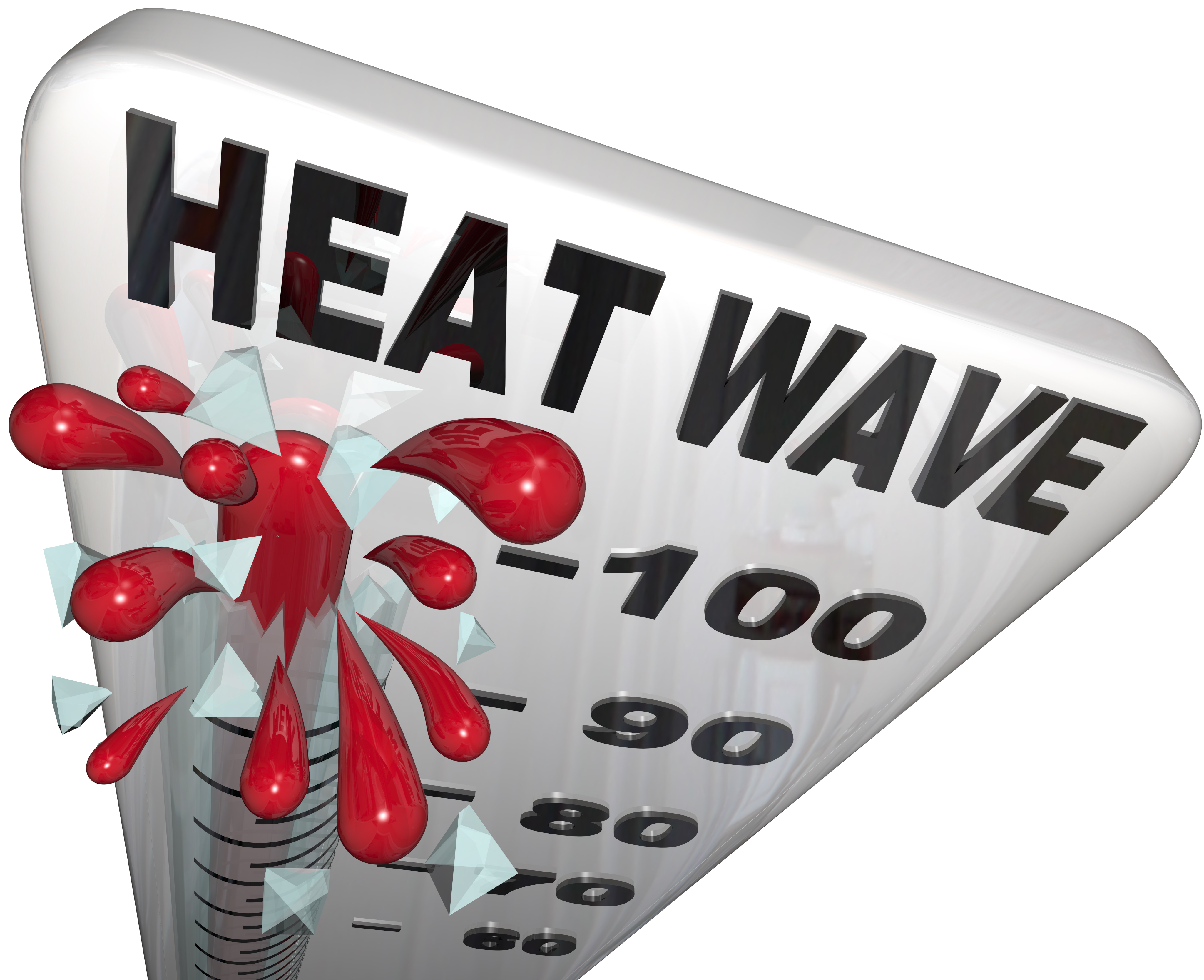Heat Advisory Extended Thru 7 PM Thursday; Heat Index of 108