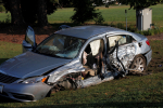 Four Hospitalized In Two Car Crash