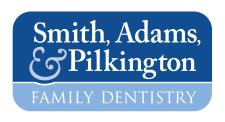 Smith, Adams, and Pilkington Family Dentistry Logo