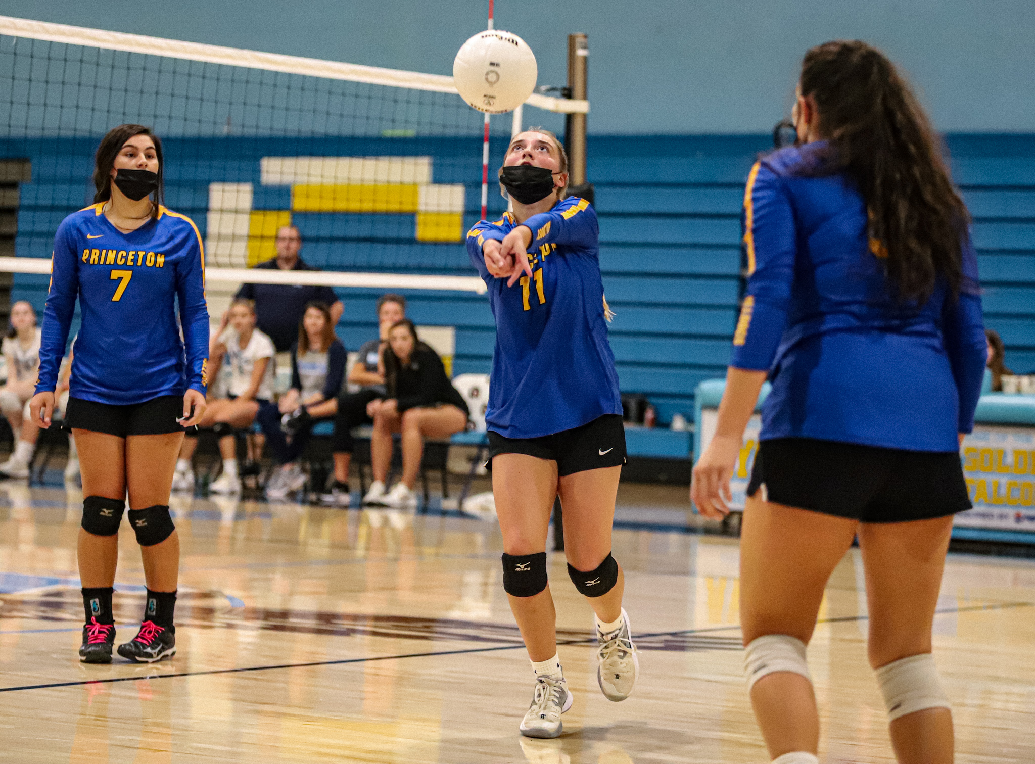 Volleyball: Princeton Takes On C.B. Aycock (PHOTO GALLERY)
