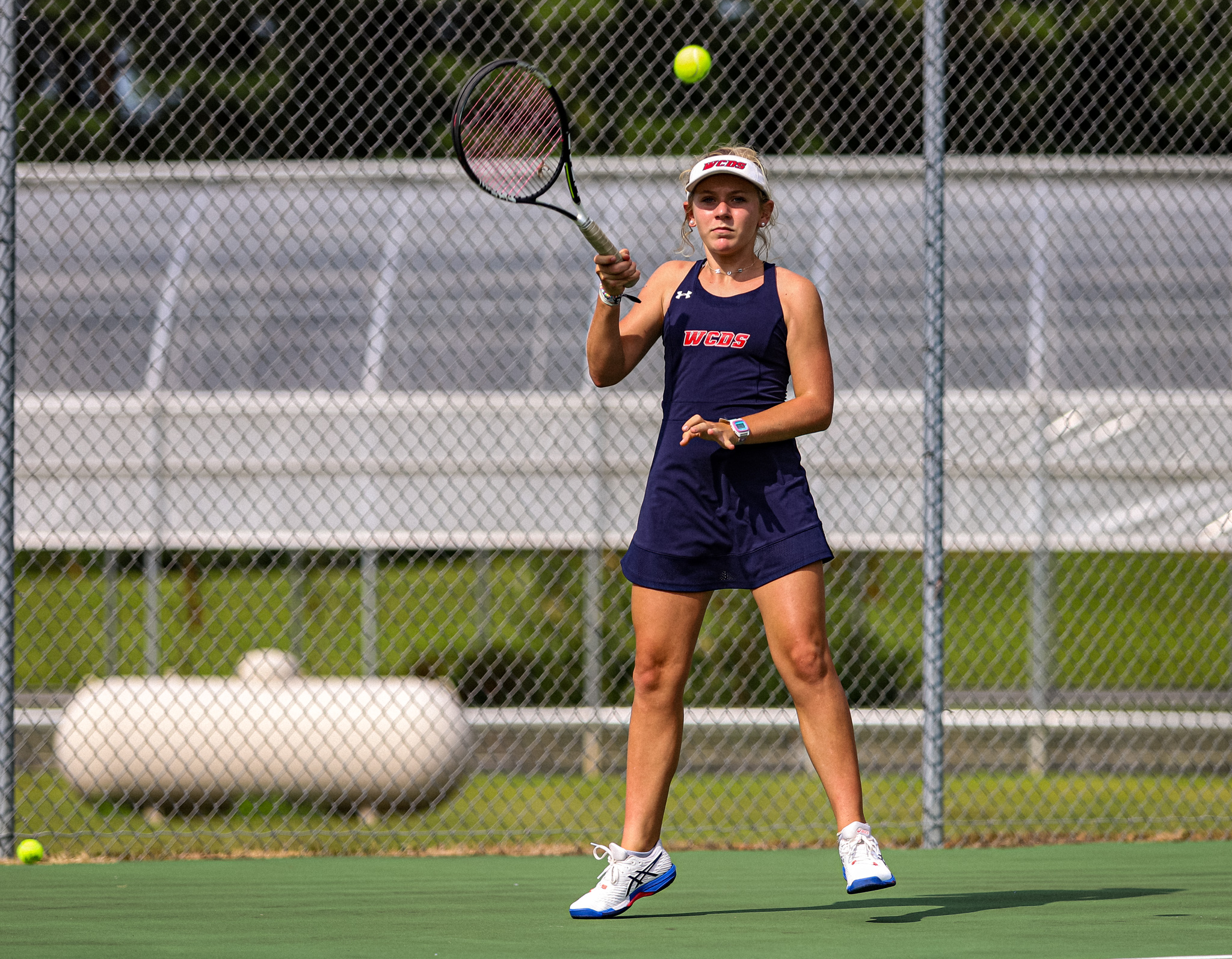 Girls Tennis: WCDS Opens Season Against Cape Fear Christian Academy (PHOTO GALLERY)