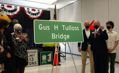 NCDOT, Local And State Officials Honor Gus Tulloss