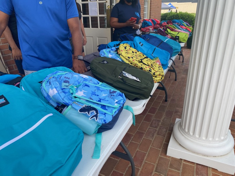 Worrell Contracting Helps Kids Get Ready For Back To School