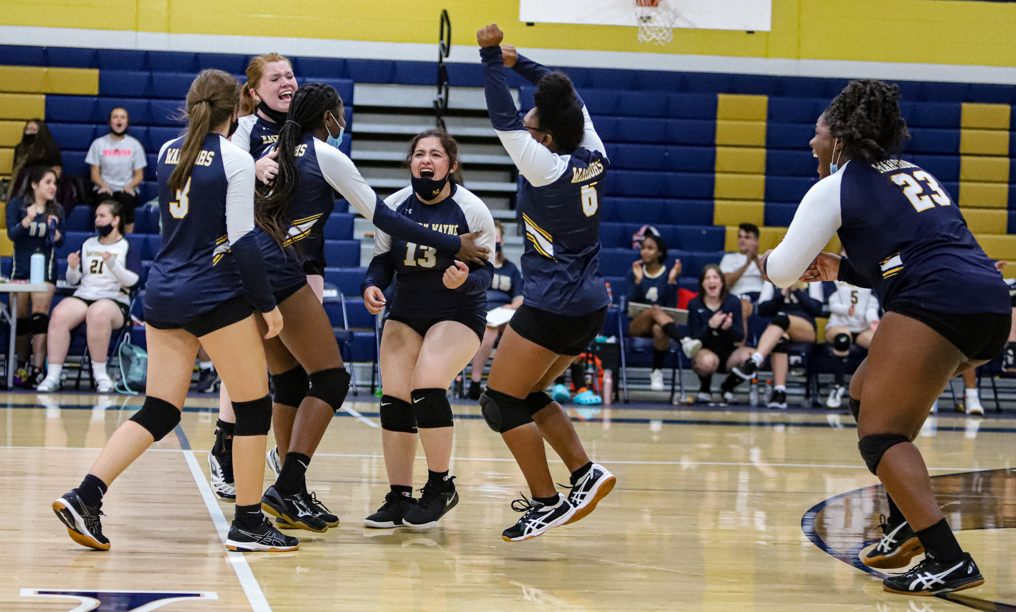 Volleyball: Eastern Wayne Gets Its First Win Of The Season Against Kinston (PHOTO GALLERY)