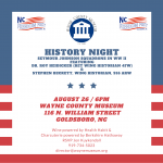 RSVP For History Night Lecture At The Wayne County Museum
